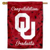 Oklahoma Sooners Congratulations Graduate Flag