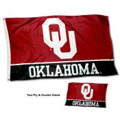 Oklahoma Sooners Double Sided Flag
