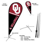 Oklahoma Sooners Feather Flag Kit