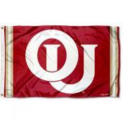 Oklahoma Sooners Throwback Vault Logo Flag