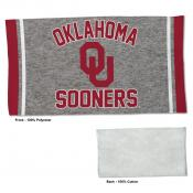 Oklahoma Sooners Workout Exercise Towel