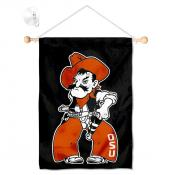 Oklahoma State Cowboys Banner with Suction Cup