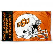Oklahoma State Cowboys College Football Flag
