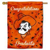 Oklahoma State Cowboys Congratulations Graduate Flag