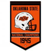 Oklahoma State Cowboys Football National Champions Banner
