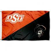 Oklahoma State Cowboys Pistol Pete Flag