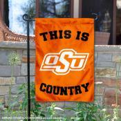 Oklahoma State University Country Garden Flag