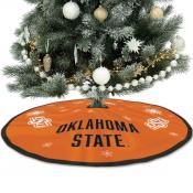 Oklahoma State University Cowboys Christmas Tree Skirt
