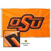 Oklahoma State University Nylon Embroidered Flag