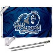Old Dominion Monarchs Flag Pole and Bracket Kit