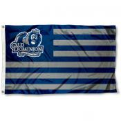Old Dominion Monarchs Stripes Flag