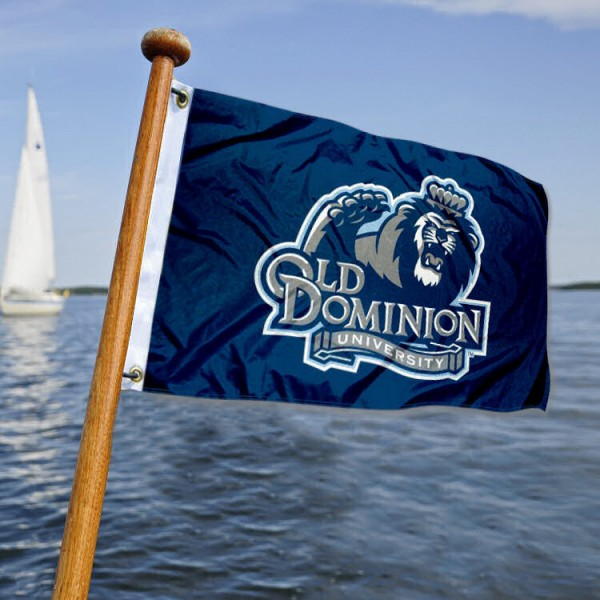 Old Dominion ODU Monarchs Yacht Flag measures 12x18 inches, is made of two-ply polyesters, offers quadruple stitched flyends for durability, has two metal grommets, and is viewable from both sides. Our Old Dominion ODU Monarchs Yacht Flag is officially licensed by the selected university and the NCAA and can be used as a motorcycle flag, golf cart flag, or ATV flag.