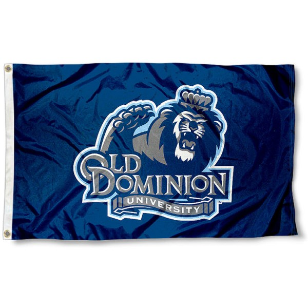 Old Dominion University Flag measures 3'x5', is made of 100% poly, has quadruple stitched sewing, two metal grommets, and has double sided Old Dominion University logos. Our Old Dominion University Flag is officially licensed by the selected university and the NCAA