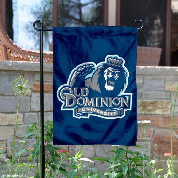 Old Dominion University Garden Flag is 13x18 inches in size, is made of 2-layer polyester, screen printed Old Dominion University athletic logos and lettering. Available with Same Day Express Shipping, Our Old Dominion University Garden Flag is officially licensed and approved by Old Dominion University and the NCAA.