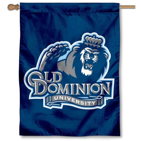 Old Dominion University House Flag is a vertical house flag which measures 30x40 inches, is made of 2 ply 100% polyester, offers dye sublimated NCAA team insignias, and has a top pole sleeve to hang vertically. Our Old Dominion University House Flag is officially licensed by the selected university and the NCAA