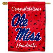 Ole Miss Congratulations Graduate Flag
