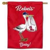 Ole Miss New Baby Flag