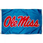 Ole Miss Powder Blue Flag