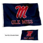 Ole Miss Script M Flag