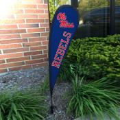 Ole Miss Small Feather Flag