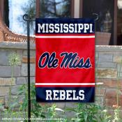 Ole Miss University of Mississippi Garden Yard Flag