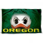 Oregon Duck Eye Flag