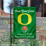 Oregon Ducks 2020 Rose Bowl Game Garden Flag