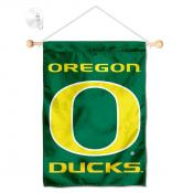 Oregon Ducks Banner with Suction Cup