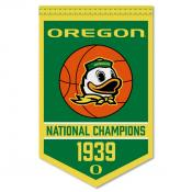 Oregon Ducks Basketball National Champions Banner