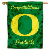 Oregon Ducks Congratulations Graduate Flag