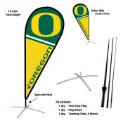 Oregon Ducks Feather Flag Kit