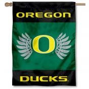 Oregon Ducks Wings Banner Flag