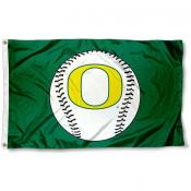 "Oregon ""O"" Logo Baseball Flag"