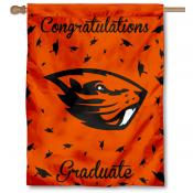 Oregon State Beavers Congratulations Graduate Flag