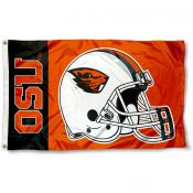 Oregon State Beavers Helmet Flag