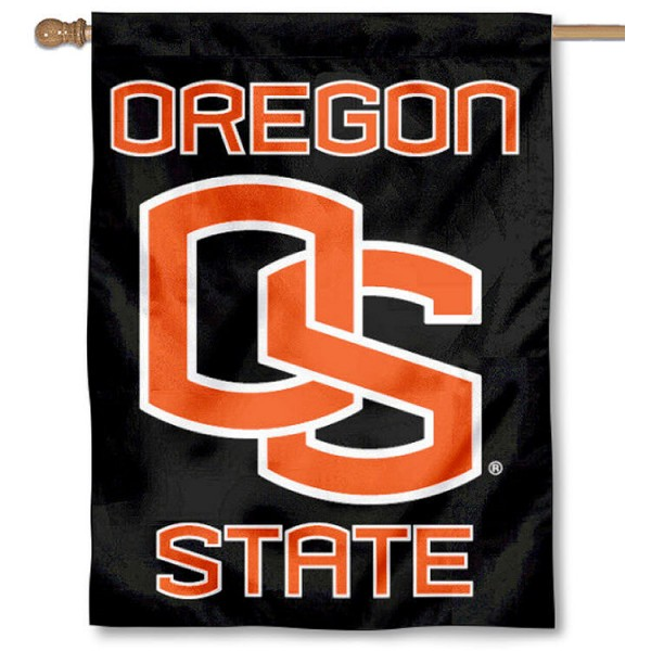 Oregon State OS Beavers House Flag is a vertical house flag which measures 30x40 inches, is made of 2 ply 100% polyester, offers screen printed NCAA team insignias, and has a top pole sleeve to hang vertically. Our Oregon State OS Beavers House Flag is officially licensed by the selected university and the NCAA.