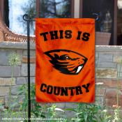 Oregon State University Country Garden Flag