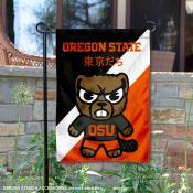 Oregon State University Tokyo Dachi Mascot Yard Flag