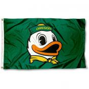 "Oregon ""The Duck"" Logo Flag"