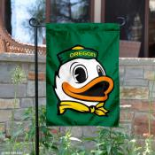 Oregon The Duck Logo Garden Flag