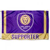 Orlando City SC Supporter 3x5 Foot Logo Flag