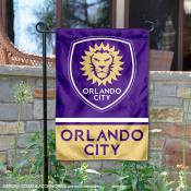Orlando City Soccer Club Garden Flag