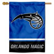 Orlando Magic Logo Double Sided House Flag