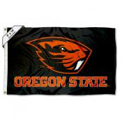 OSU Beavers Black 6'x10' Flag