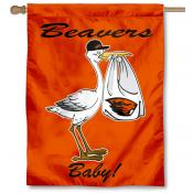 OSU Beavers New Baby Flag