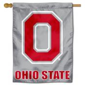 OSU Buckeyes Block O Banner Flag