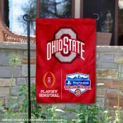 OSU Buckeyes College Football CFP Semifinal Game Garden Flag