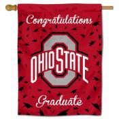 OSU Buckeyes Congratulations Graduate Flag