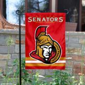 Ottawa Senators Garden Flag