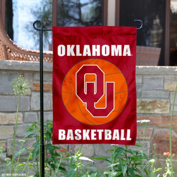 OU Sooners Basketball Garden Banner is 13x18 inches in size, is made of 2-layer polyester, screen printed athletic logos and lettering. Available with Same Day Express Shipping, Our OU Sooners Basketball Garden Banner is officially licensed and approved by the school and the NCAA.
